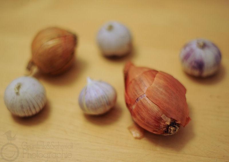 Roasted Garlic & Onion Vinaigrette