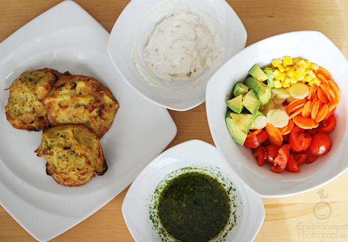 Oven-baked Gluten-free Potato Latkes