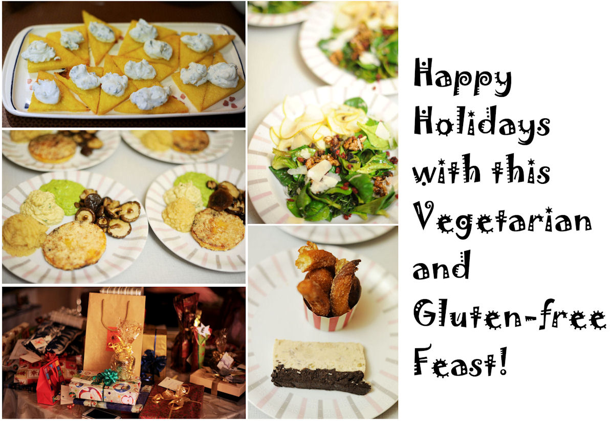 2014's Vegetarian and Gluten-free Holiday Feast