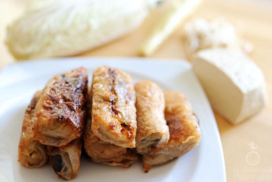 Vegetarian and Gluten-free Spring Rolls