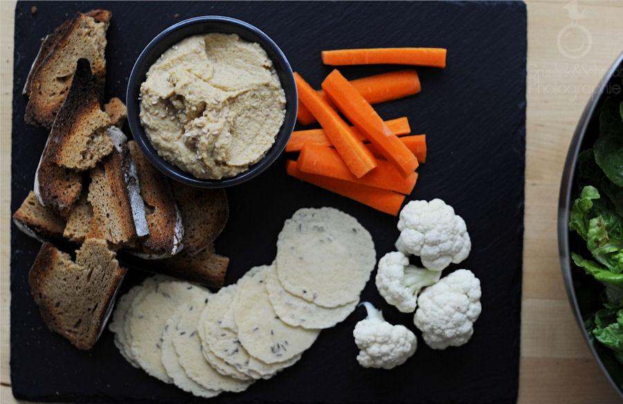 Gluten-free Hummus Dinner