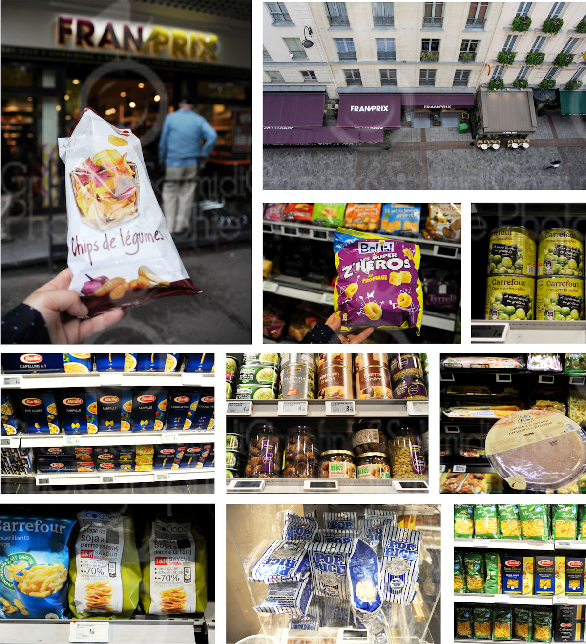 Parisian Supermarkets under the Microscope: Naturalia, Picard and FranPrix