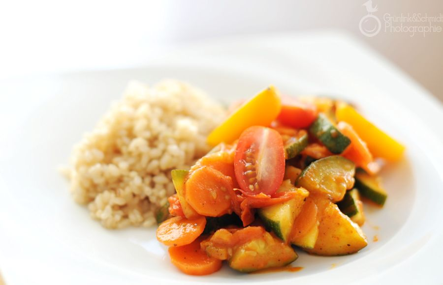Jessi's Ratatouille-style Vegetable Stir-Fry